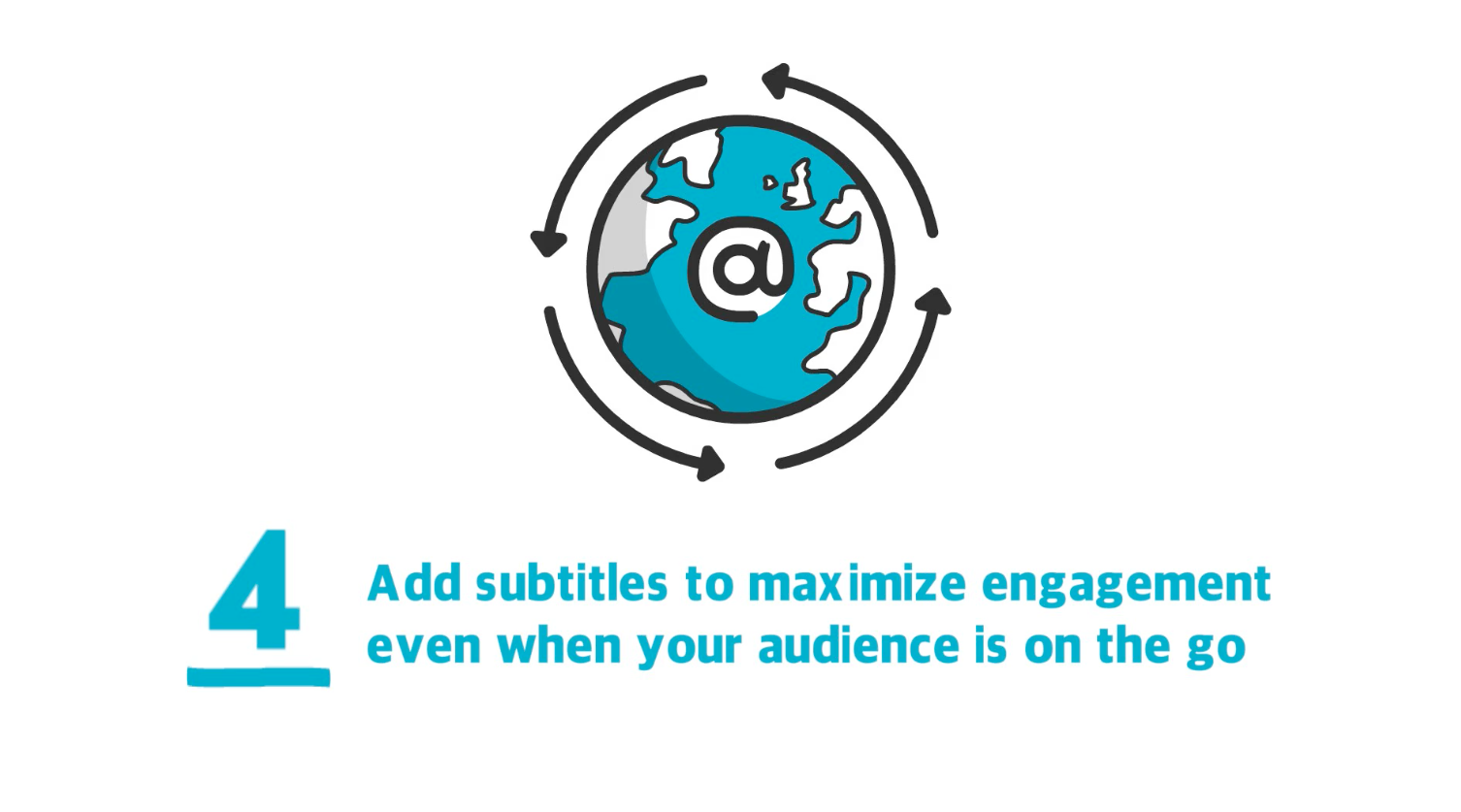 Add subtitles to your videos to maximize engagement